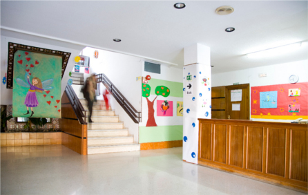 Colegio Santa Cristina en Granada
