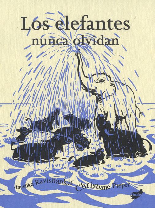 Los elefantes nunca olvidan  portada
